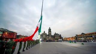 Conmemoración de las víctimas de los sismos de 1985 y 2017