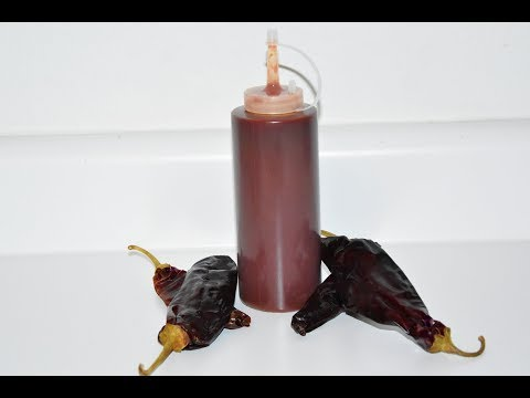 Homemade Taco Sauce - New Mexico Red Chile Sauce - Mexican Red Sauce