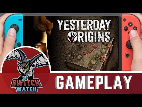 Yesterday Origins Nintendo Switch Gameplay