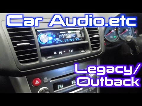 how to install a stereo into a subaru legacy outback (2003 2009 Subaru Car Radios
