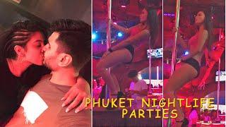 PHUKET Nightlife & HOT Parties : Best Bar & Clubs, illuzion & Tiger bar, Walking street, HOT Girls