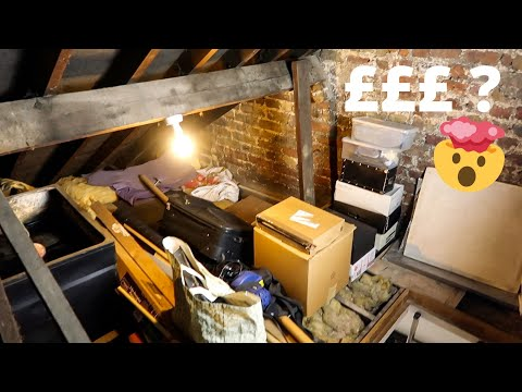 LOFT TOUR (BEFORE) AND THE QUOTES ARE IN! | AD | MR CARRINGTON LOFT CONVERSION Part 2