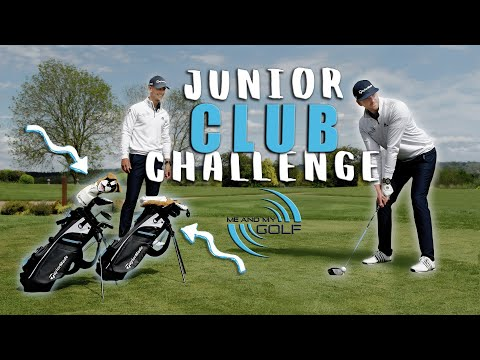 JUNIOR GOLF CLUB Challenge | Me and My Golf