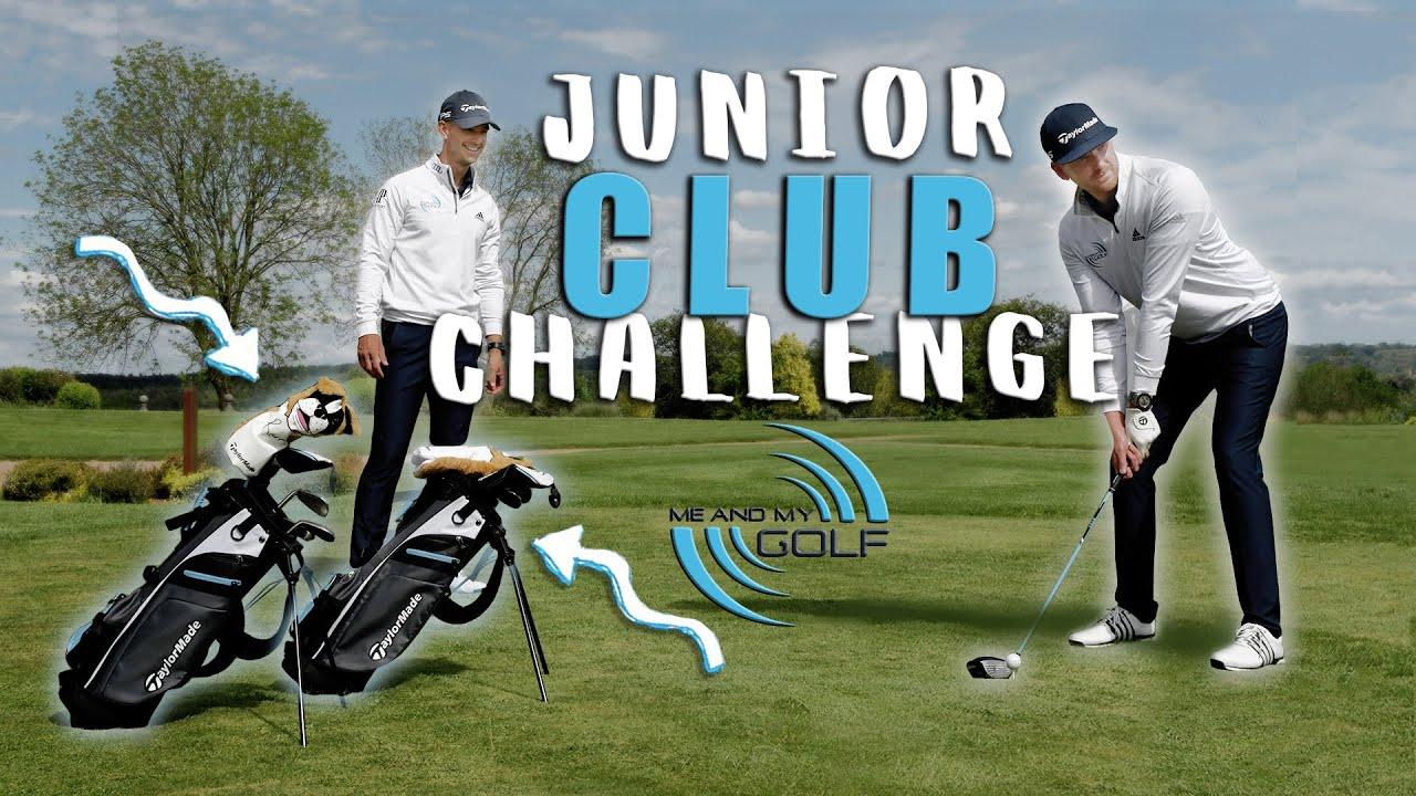 JUNIOR GOLF CLUB Challenge | Me and My Golf