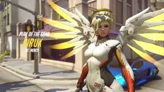 Overwatch - Mercy - Easy mode play of the game