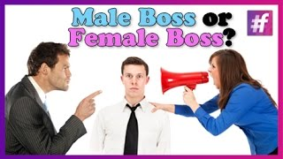 Who is a More Difficult Boss - Women or Men ? Thumbnail