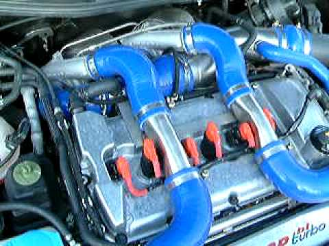 Golf R32 Bi Turbo Engine Bay  YouTube