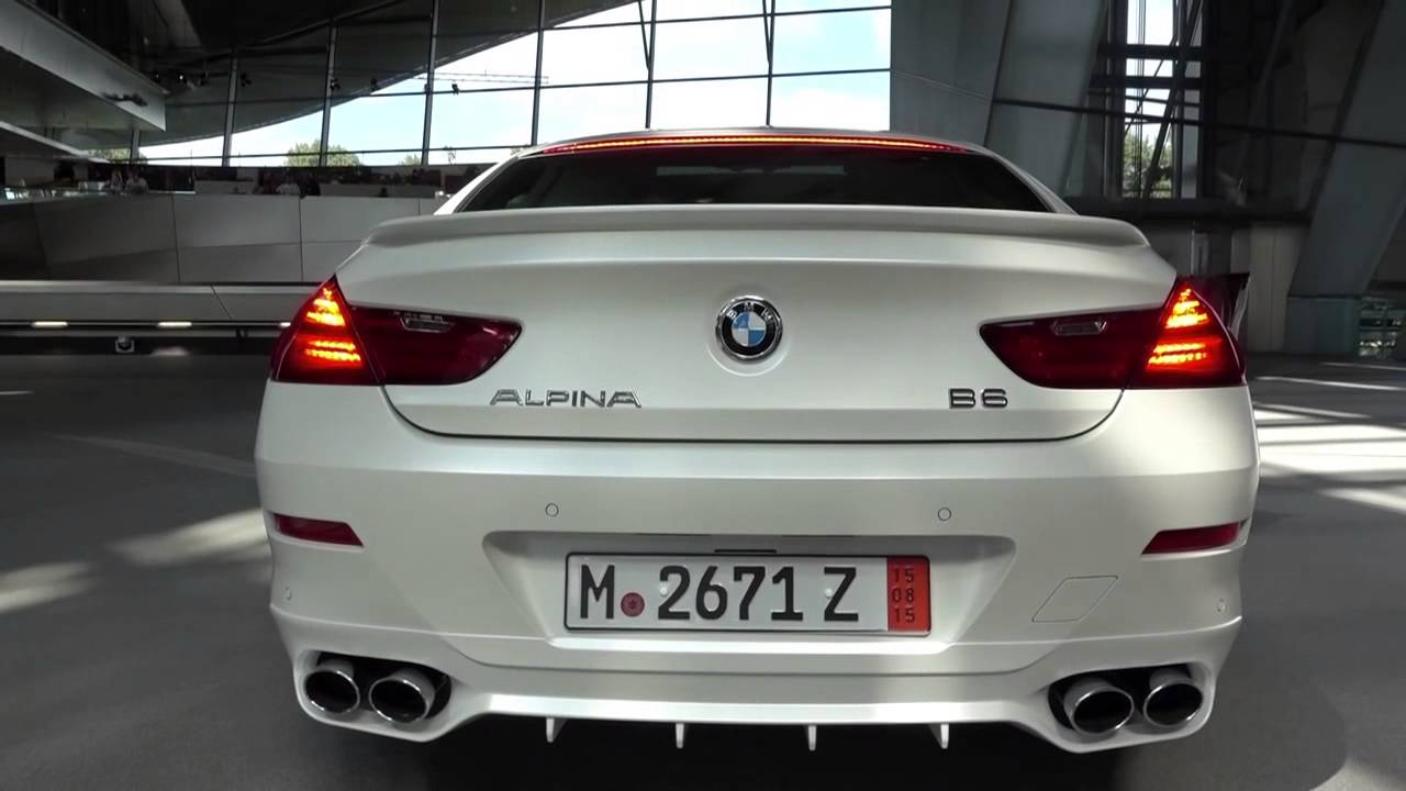 Bmw Alpina B6 >> 2016 Alpina B6 Startup/Rev, European Delivery Photos - YouTube
