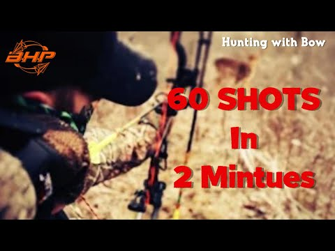 60 Shots In 2 Minutes ULTIMATE Bowhunting Compilation