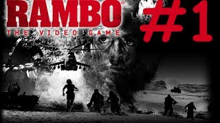 [PC] Rambo : The Video Game - Mission 1 | Gameplay