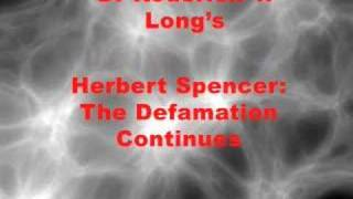 Re: Darwin is not Herbert Spencer - Social Darwinism