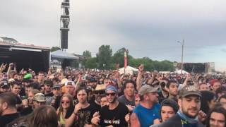 Montebello Rockfest 2017 - In a Circle Pit At Megadeth