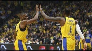 Maccabi Tel Aviv vs Fenerbahçe 82:73 Euroleague 2017-18 Highlights