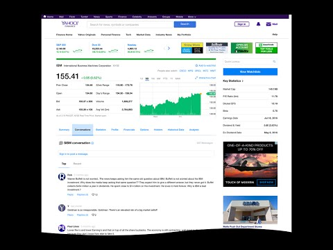 New look for Yahoo Finance