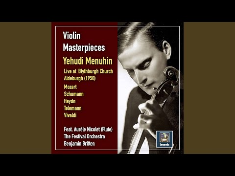 Flute Concerto in G Major, K. 313: I. Allegro maestoso (Live)