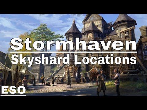 ESO | Stormhaven Skyshard Locations (Description)