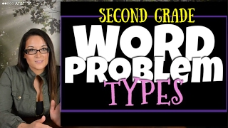 2nd Grade Word Problems: The Different Types