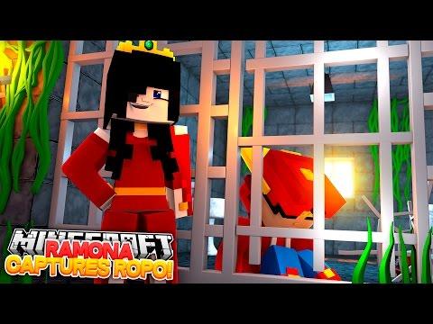 Minecraft Adventure - RAMONA CAPTURES LITTLE ROPO!! - Видео из Майнкрафт (Minecraft)