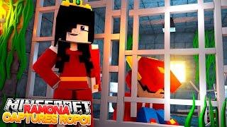Minecraft Adventure - RAMONA CAPTURES LITTLE ROPO!!