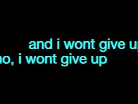 Jana Kramer- I Won't Give Up (Lyrics On Screen) [Acoustic Version]