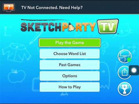 Sketch Party TV Walkthrough
