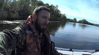 Ловля мирной рыбы на реке Рыбалка на фидер донку