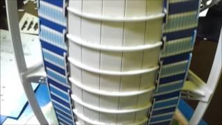 Solving The 3D Burj Puzzle