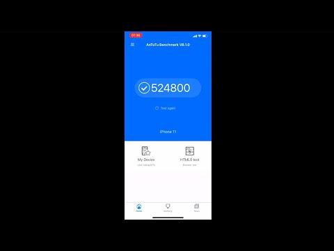 Apple IPhone 11 Antutu Benchmark Test