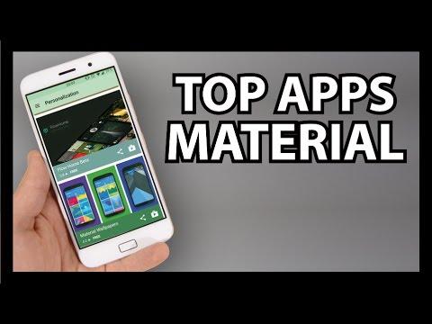 Mejores APPS Material Design - 2016