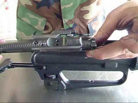How to Field Strip an AR-15 / M-4 / M-16 Rifle (HD ...