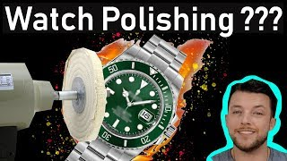 ⌚ Was This Watch Polished ??? - THE TRUTH :)