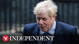 Live: Boris Johnson press conference on new coronavirus restrictions