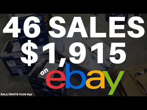 Weekend Sales - 46 ITEMS SOLD $1915 💰 Making Money On EBAY! - Reselling Vlog #97 | RALLI ROOTS