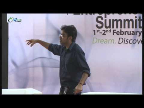 Varun Agarwal and Anirudh Sharma at the E-Summit 2014