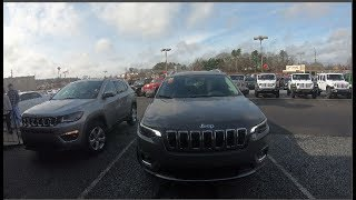 2019 Jeep Cherokee VS 2019 Jeep Compass, The Very Slight Appearance Differences!
