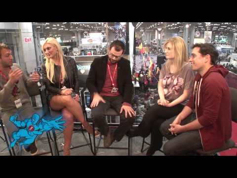 BRAD NEELY, BROOKE HOGAN, And DANIEL WEIDENFELD @ NYCC2013  Video