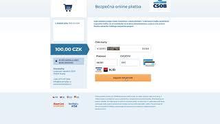 Jak registrovat platební kartu?