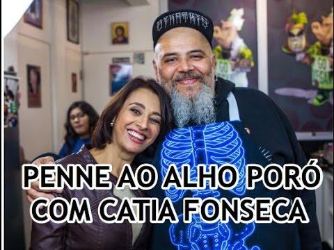 Penne ao alho poró com Catia Fonseca   Panelaço do João Gordo