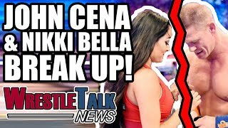 John Cena & Nikki Bella BREAK UP! Rusev WWE Status REVEALED!   WrestleTalk News Apr. 2018
