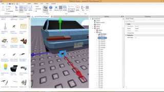 (Roblox Studio 60fps) How to install an exhaust on your car