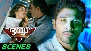 Bhaiyya My Brother Malayalam Movie Scenes | Sai Kumar attacks Ram Charan | Allu Arjun | Kajal