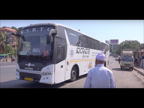 7 In 1 Video Of KSRTC & NWKRTC Multi Axle Scania & Volvo Buses, Glittering In Mumbai