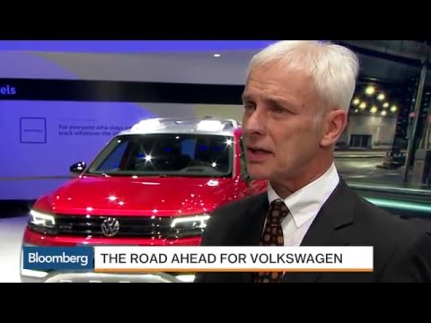 Volkswagen's CEO Explains Plan to Win Back U.S. Customers