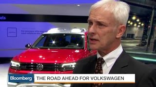 Volkswagen's CEO Explains Plan to Win Back U.S. Customers