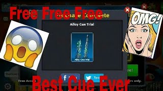 OMG Free Max State Alloy Cue 100%  Just For Some Selected Players ||SHEHRAZ