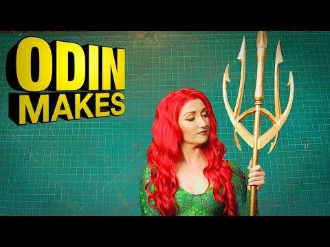 Odin Makes: Mera's Trident from the Aquaman comic books