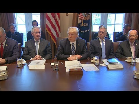Trump Cabinet Humiliates Themselves in Praise of Their Dear Leader