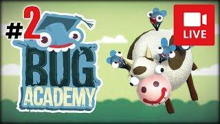 """[Archiwum] Live - Bug Academy! (1) - [2/2] - """"Klejnoty i wieża z klocków"""""""
