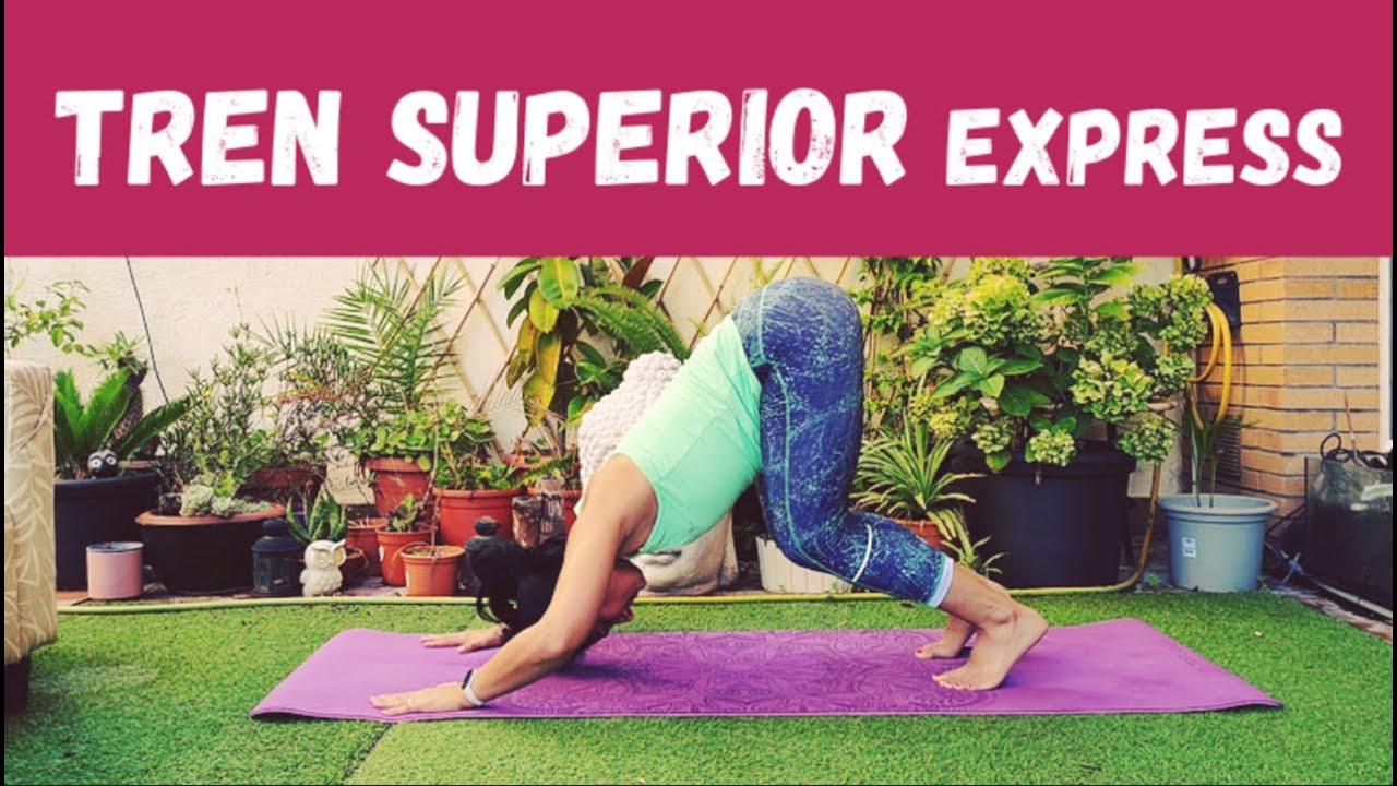 TREN SUPERIOR Express sin material - Brazos, pectoral, dorsal, hombros
