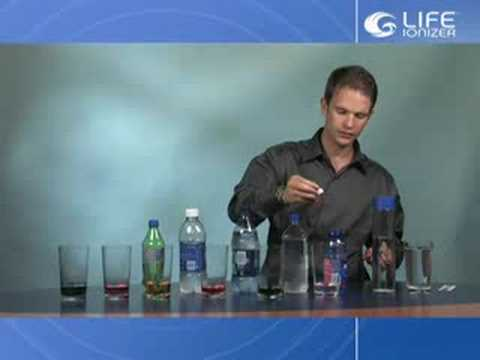 Bottled Water Test. Alkaline Ionized Water. What are you really ...